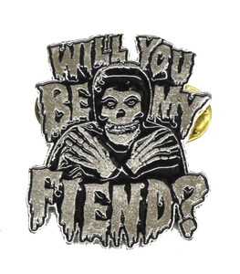 "Misfits - Will You Be My Fiend? 2"" Metal Badge"