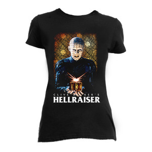 Hellraiser Pinhead Girls T-Shirt