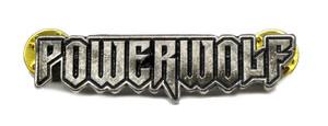 "Powerwolf  2"" Logo Metal Badge"