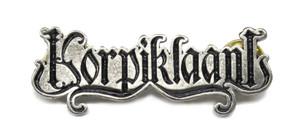 "Korpiklaani  2"" Logo Metal Badge"