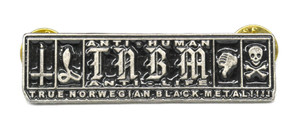 "True Norwegian Black Metal  2"" Metal Badge"