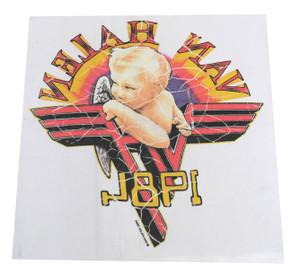 Van Halen 1981 Test Backpatch
