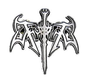 """Thyrfing 2"""" Logo Metal Badge"""