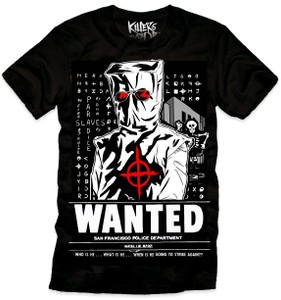 Zodiak Killer - Wanted T-Shirt