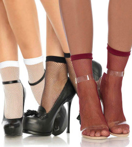 Fishnet Anklet Socks