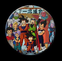 """Dragon Ball  Anime 1.5"""" Pin"""