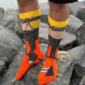Naruto Uzumaki 360 Character Unisex Socks
