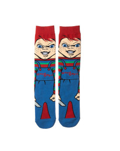 Child's Play Chucky 360 Character Unisex Socks