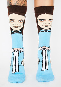 The Shining Come Play With Us Grady Twins Character Unisex Socks
