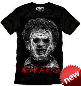 Halloween Movie - Michael Myers Wear A Mask T-Shirt
