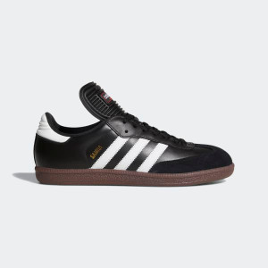 ADIDAS - Samba Classic Black with White Stripes Sneakers