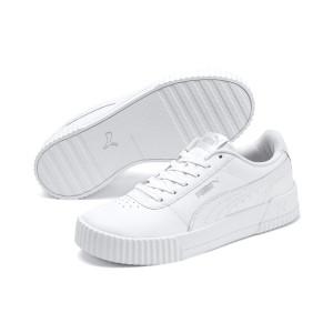 PUMA - Carina L Women's Streetstyle White Sneakers