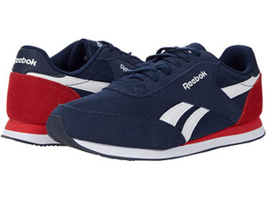 REEBOOK - Men's  Royal Blue and Red CL Jogger Sneakers