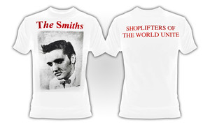 The Smiths - Shoplifters of the World Unite T-Shirt