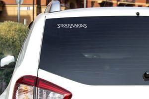 "Stratovarius - Logo 7x1"" Vinyl Cut Sticker"