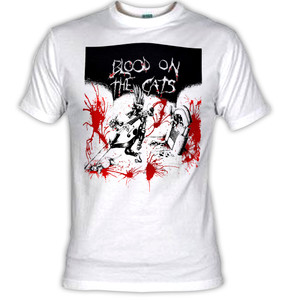 Blood and the Cats - 1982 Psychobilly Compilation T-Shirt