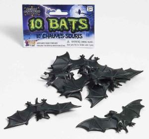 10 Piece Plastic Bat Set
