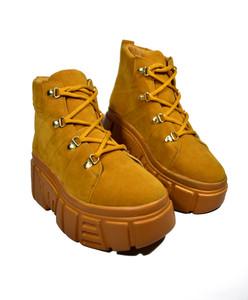 XANA - Mustard Chunky Platform Boots
