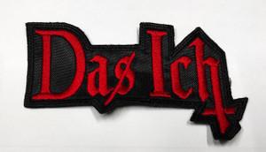 """Das Ich 2x3"""" Embroidered Patch"""