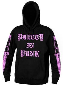 Pretty In Punk - Hooded Sweatshirt