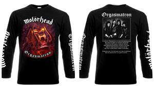 Motorhead - Orgasmatron Long Sleeve T-Shirt