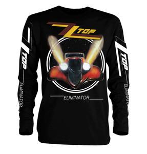 ZZ Top - Eliminator Long Sleeve T-Shirt