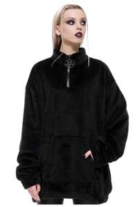 Wolfsbane Fleece Black Top