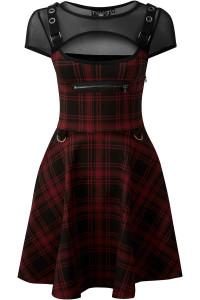 Slayonce Red Skater Dress
