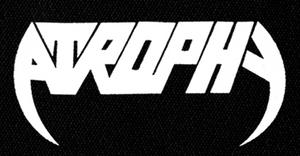 "Atrophy - Logo 7x4"" Printed Patch"