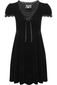 Heather Babydoll Black Dress