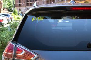 """The Business -  Logo 7x3"""" Vinyl Cut Sticker"""