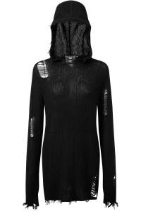Mantra Knit Black Hoodie