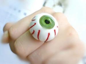 Eyeball Adjustable Ring