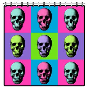 Shower Curtain - Warskol Skull