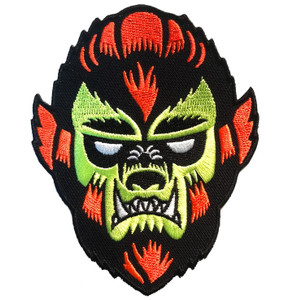 The Wolfman Embroidered Patch