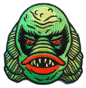 The Creature from the Black Lagoon Embroidered Patch