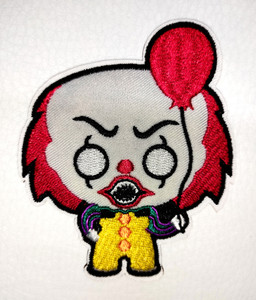 """It Pennywise Pop 3x3.7"""" Embroidered Patch"""