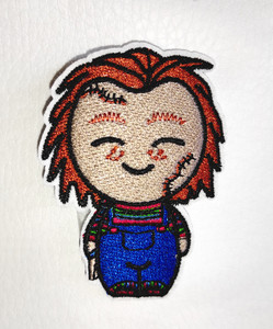 """Chuky Pop 2x2.7"""" Embroidered Patch"""