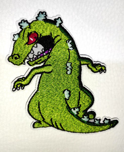 """Rugrats - Reptar 2.7x4"""" Embroidered Patch"""