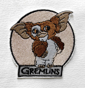 """Gremlins - Gizmo  3.2"""" Embroidered Patch"""
