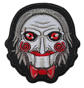 """Billy Face - Saw  2.8x3"""" Embroidered Patch"""