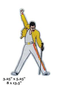 "Queen - Freddie Mercury 3x5"" Embroidered Patch"