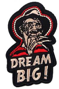 "A Nightmare on Elm Street - Freedy Krueger Dream Big 1.6x3"" Embroidered Patch"