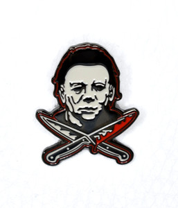 Halloween - Michael Myers With Knife Metal Pin