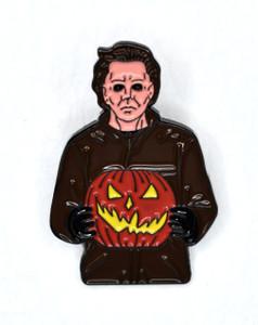 Halloween - Michael Myers Jack o Lantern Metal Pin