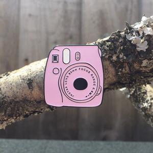 Polaroid Cam Metal Pin