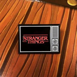 Stranger Things Tv Metal Pin