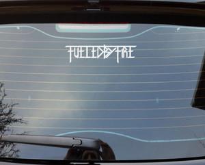 "Fueled by Fire - Logo 6x2"" Vinyl Cut Sticker"