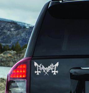 """Mayhem - Logo 7x3"""" Vinyl Cut Sticker"""