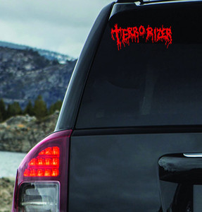 "Terrorizer - Logo 6x3"" Vinyl Cut Sticker"